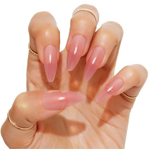 alongamento de unhas de acrílico