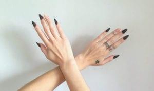 principais formatos de unhas