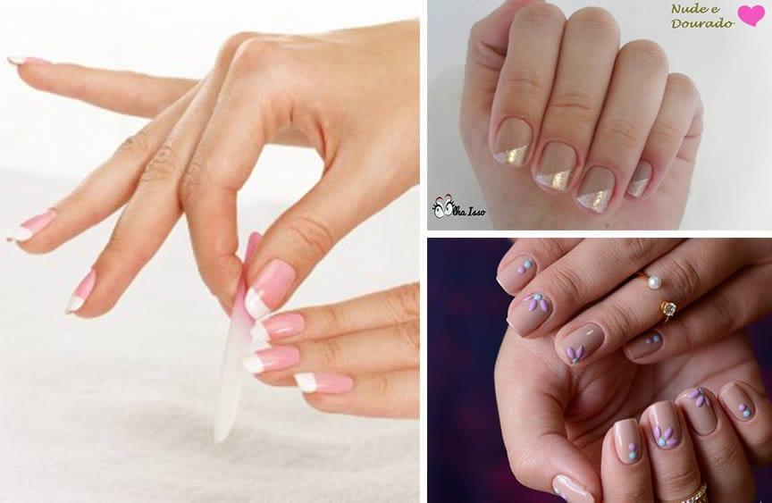 formato das unhas tipos de dedos curtos e finos