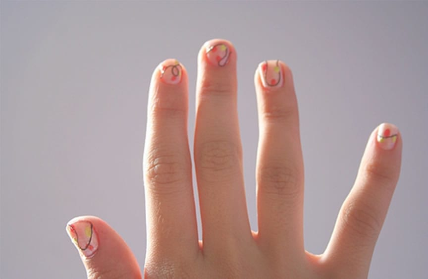formato das unhas e tipos de dedos: curtos e grossos