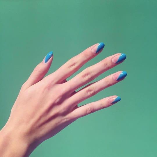 formato de unhas dedos curtos e finos