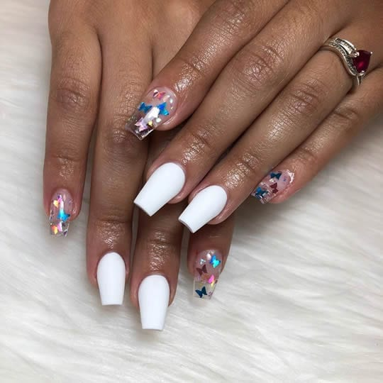 unhas decoradas 2020 unhas clear