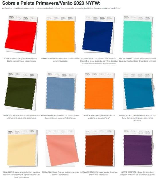 unhas decoradas 2020 cores pantone primavera verão