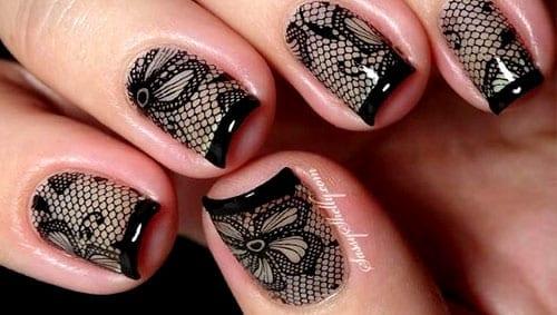 desenhos de unhas fishnet meia arrastão