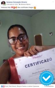 manicure empresária certificados