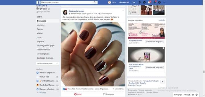 curso de manicure empresária