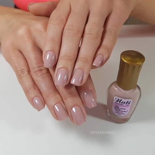 esmalte rosa nude