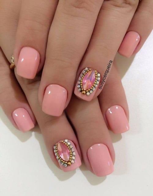 esmalte nude rosa
